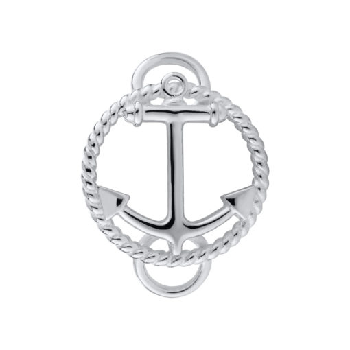 SS ANCHOR W ROPE CLASP