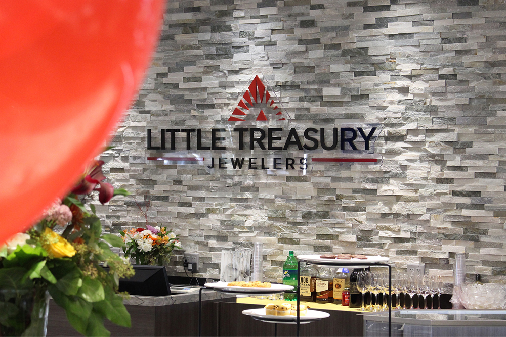Little Treasury Jewelers Wall