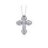 Simon G Diamond Cross Pendant