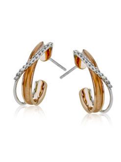 Simon G 18k Fashion Diamond Earrings