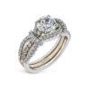 Simon G Semi-Mount diamond Ring MR3005