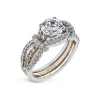 Simon G Semi-Mount diamond Ring MR3005
