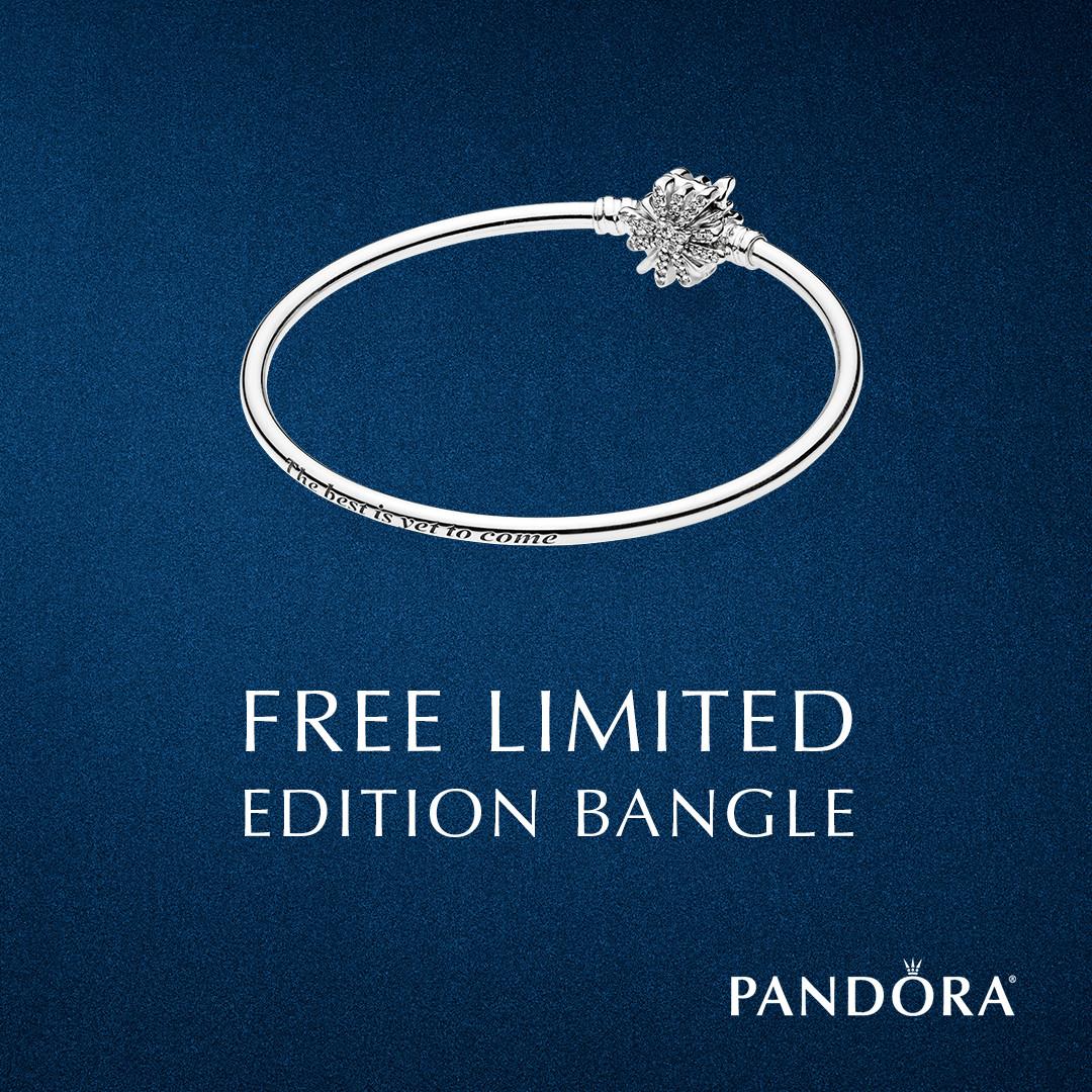 Free PANDORA Limited Edition Bangle at Little Treasury Jewelers ...
