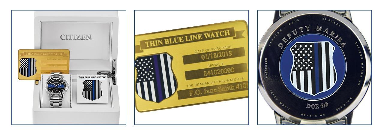 Women's Thin Blue Line Watch Set