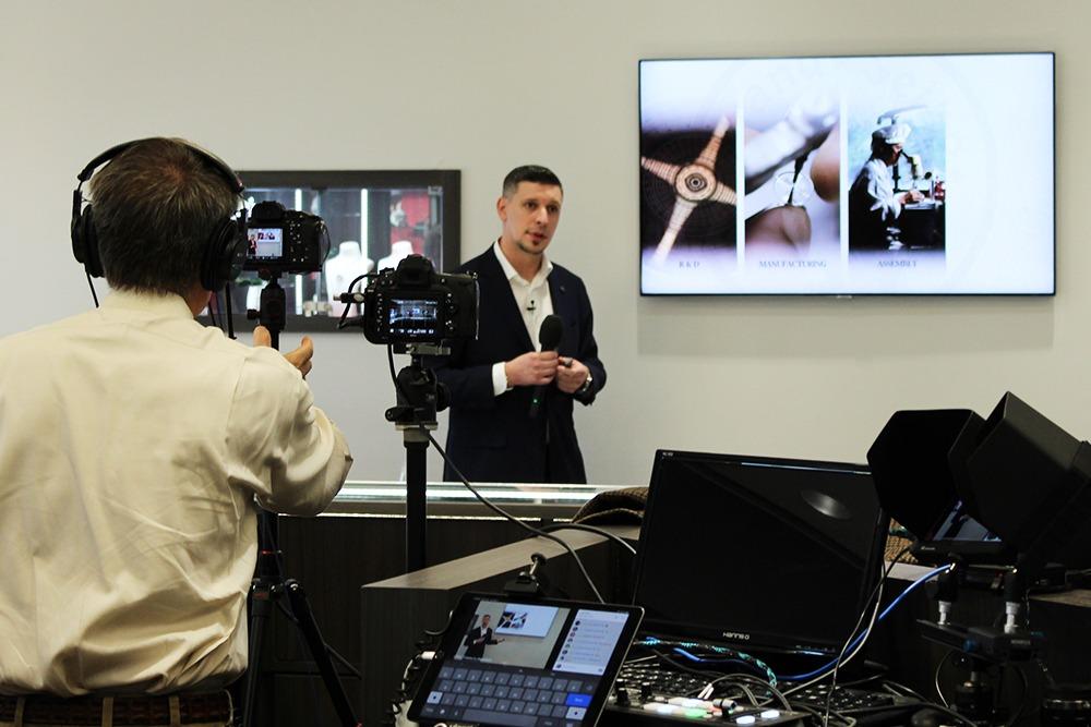 Grand Seiko trainer and expert Joe Kirk presentation