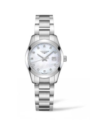 ONQUEST CLASSIC 29.50MM MOTHER OF PEARL STAINLESS STEEL