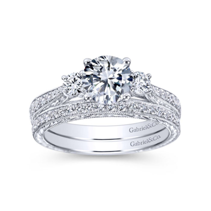Gabriel Diamond Engagement Ring