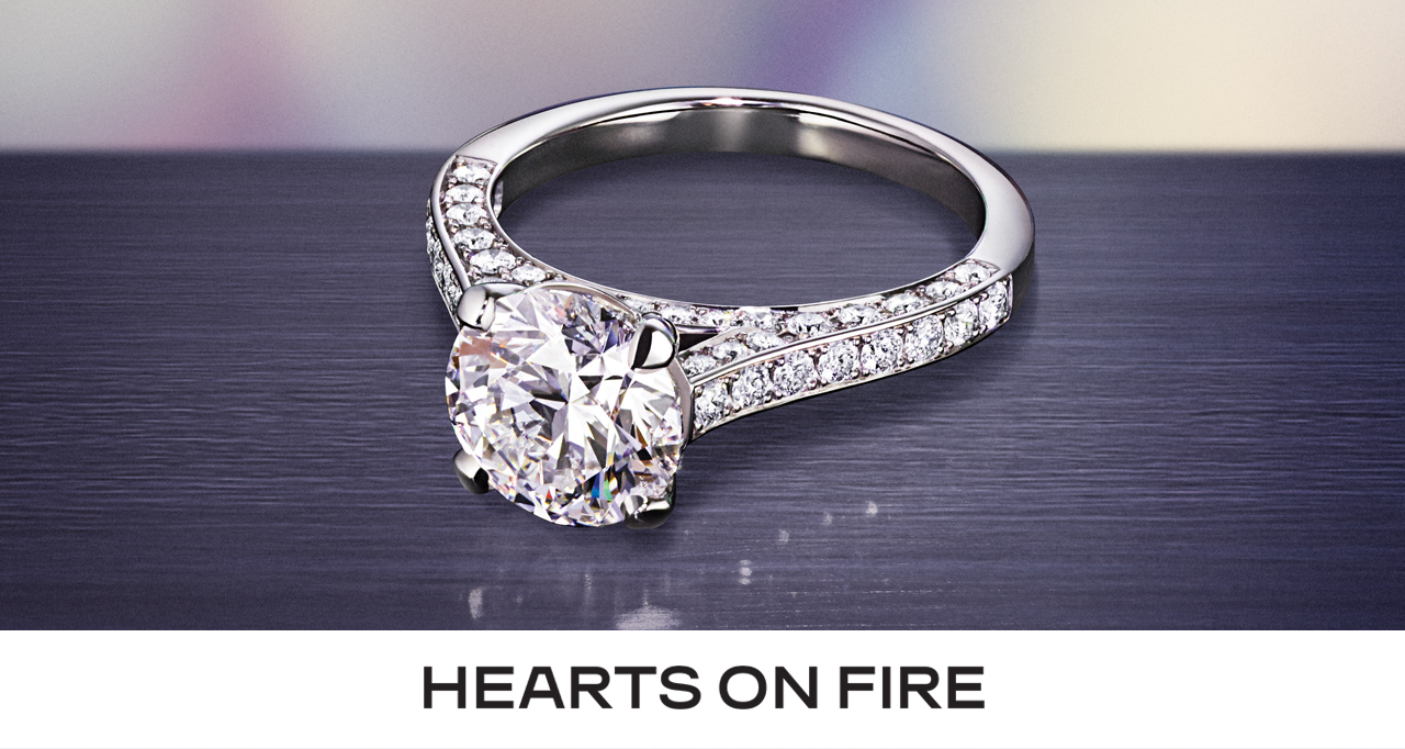 Hearts On Fire Engagment Ring Banner