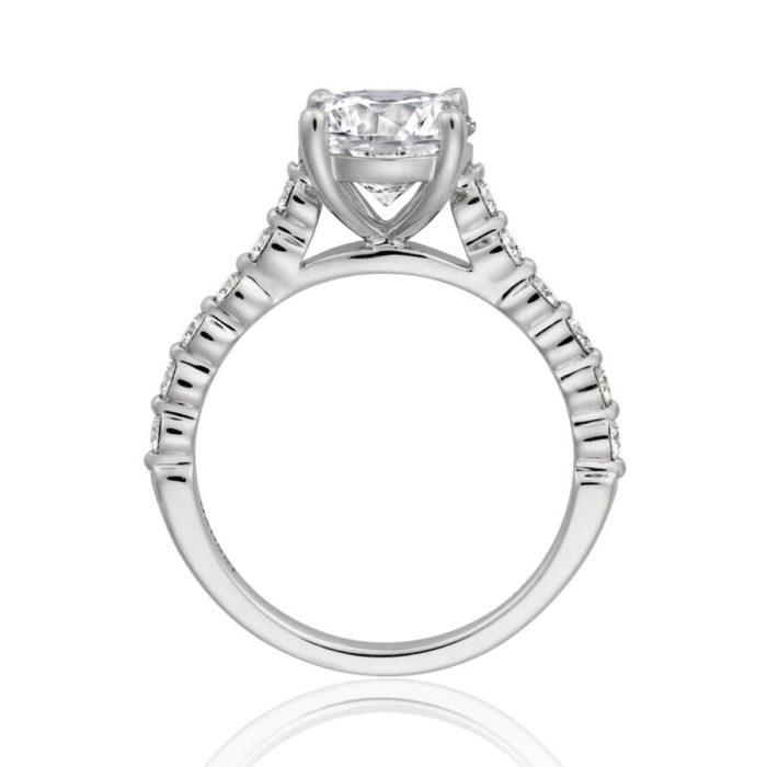 Henri Daussi Engagement Ring HZCL