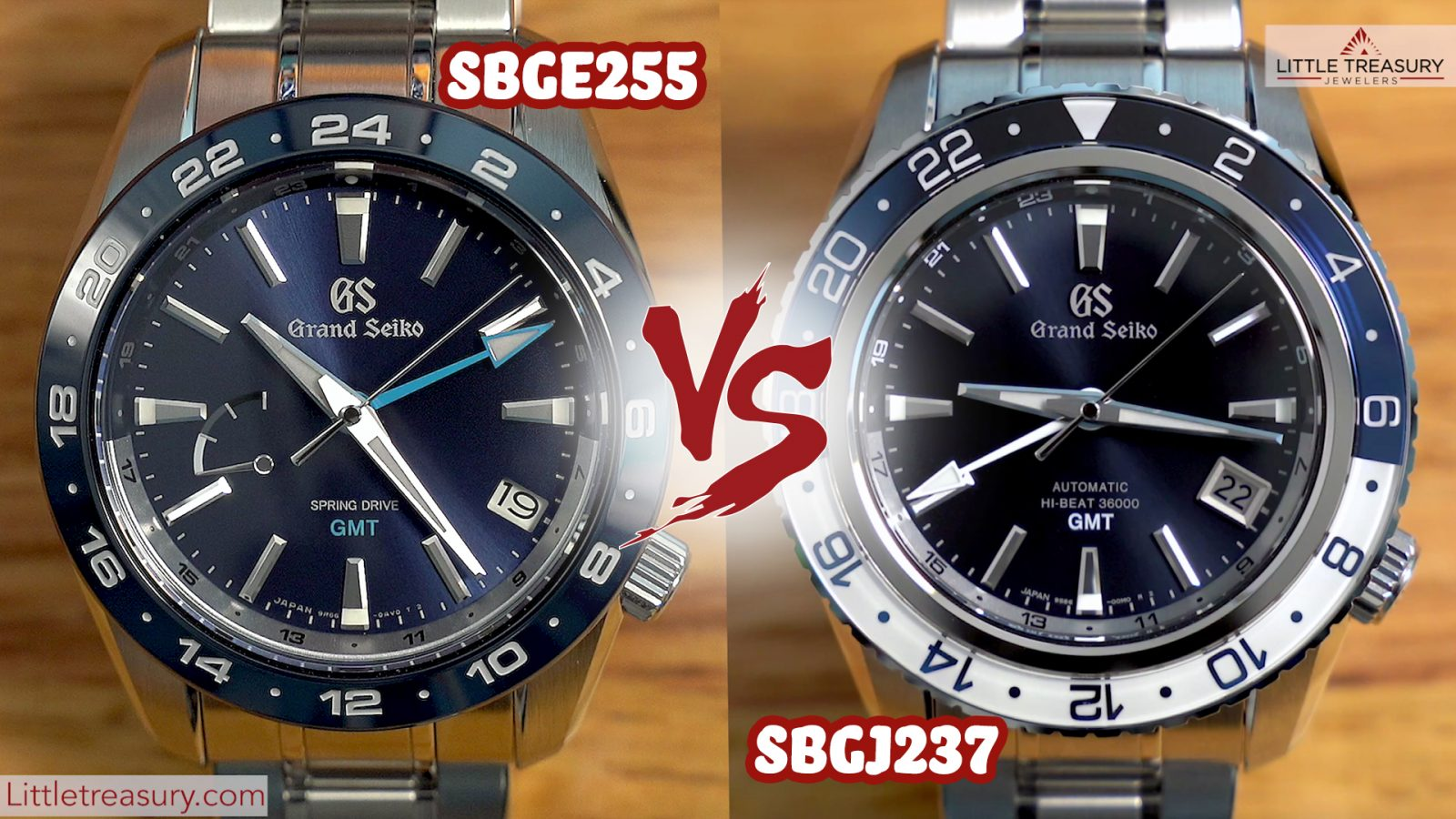 Grand Seiko SBGE255 vs SBGJ237