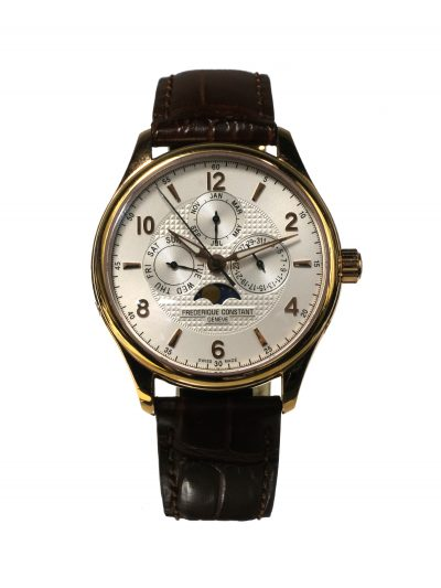 Pre-Owned Frederique Constant Runabout Moonphase Calendar FC-365RM5B4