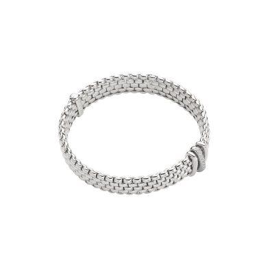 18KW Diamond 0.08ctw Panorama Bracelet