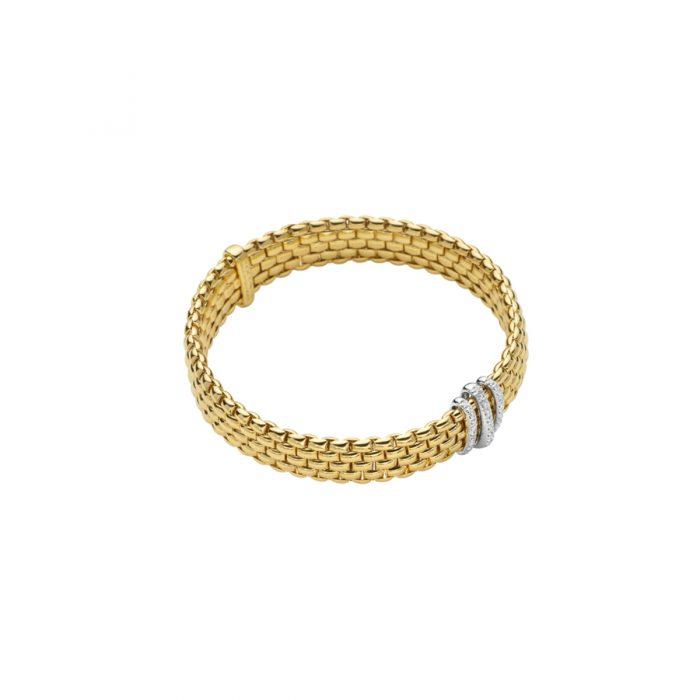 Fope 18k Pave bracelet