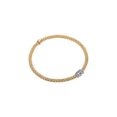18KY Diamond 0.07ctw Prima Bracelet