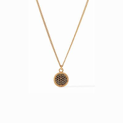 Fleur-de-Lis Solitaire Necklace