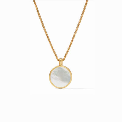 Chloe Statement Pendant with Mother of Pearl