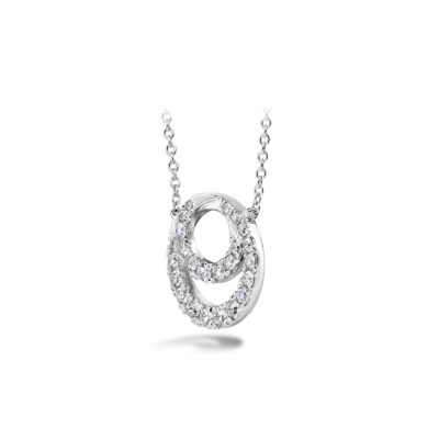Hearts on Fire Optima Diamond Circle Pendant