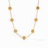 Julie Vos Colette Delicate Station Necklace Gold