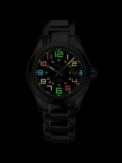 NM9032C-S2C-BK2 Rainbow Night Glow