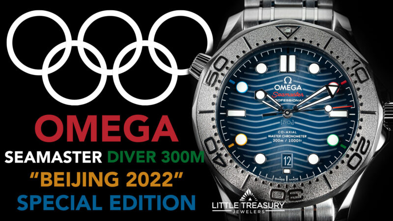 Omega Olympic Seamaster Diver 300