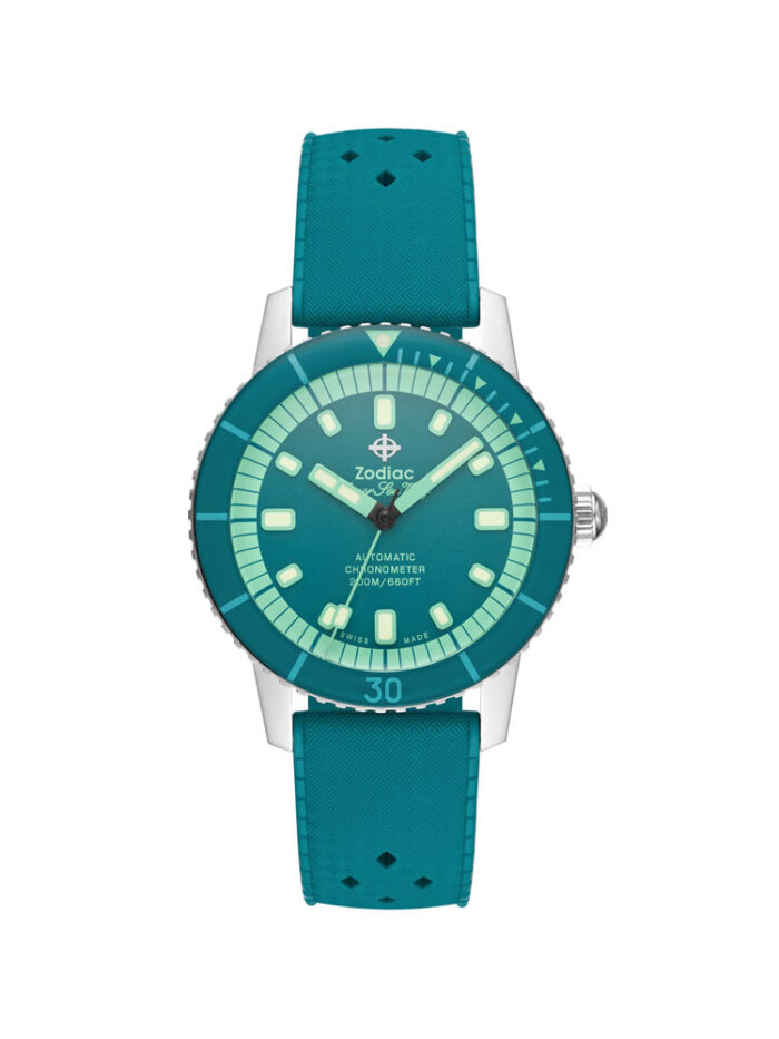 Zodiac Special Edition Super Sea Wolf Aquamarine ZO9283