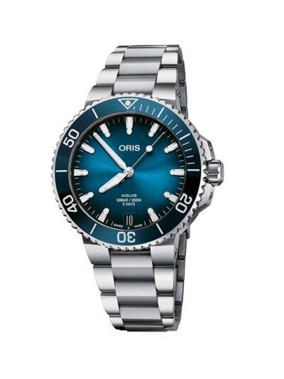 ORIS Aquis Date Calibre 400 41.5 Blue