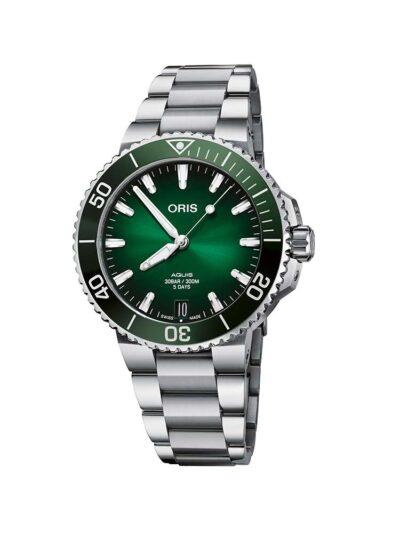 ORIS Aquis Date Calibre 400 41.5 Green
